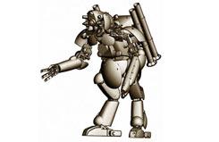 1:20 Humanoid Unmanned Interceptor - ha64106