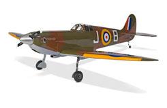Spitfire Mkii 60 W/Retracts Artf - han4250
