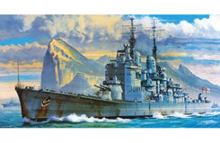 1:450 Royal Navy Battleship HMS - haz15