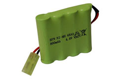 4.8V Rechargeable Battery For He806 - heba