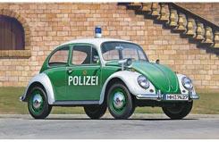 1/24 VW Beetle Type 1 Police Car - hmcr20251