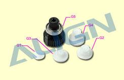Align Ds-520 Gear Set - hsp51033t