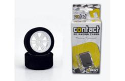 Contact 1/12 Indoor Rear Wheel/Tyre - jm37rn