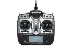 Xp-2610 35Mhz Aero/Heli Set Nicad + - jrc2610