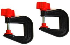 Keil Kraft Clamping Set 25mm (Pair) - kk3