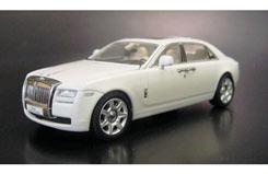 Kyosho 1/43 Rolls Royce Ghost White - ky05551ew