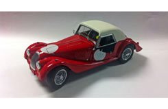 Kyosho 1/18 Morgan 4/4 Red Hard Top - ky8114r