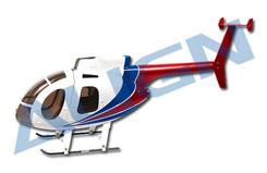 H500E 450 Fuselage Set - kz0820106ta