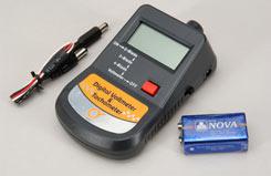 Digital Tachometer/Volt Meter/Batt. - l-mg6021b