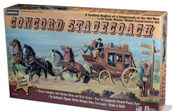 Lindberg 1/16 Concord Stage Coach - ln70351