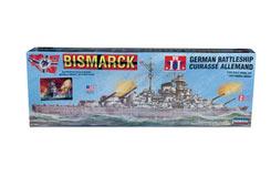 Lindberg 1/350 Bismarck Battleship - ln70825