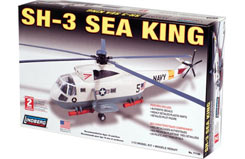 Lindberg 1/72 SH-3 Sea King Heli - ln71140