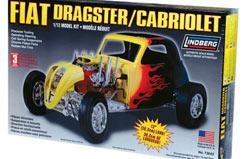 Lindberg 1/12 Fiat Dragster - ln73043