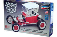 Lindberg 1/8 Big Red 'T' Rod - ln73044