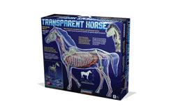 Lindberg 1/4 Transparent Horse - ln76015