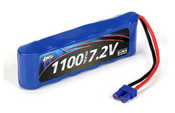 7.2v battery for mini 8ight - losb1209