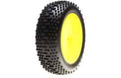 Losi Mini 8ight Front Wheel/Tyre - losb1889