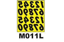Xxx/R 2inch Numbers Paint Mask - m011l