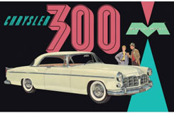 Moebius 1/25 1955 Chrysler C300 - mmk1201