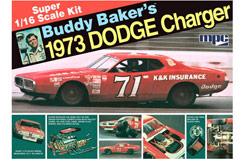 1:16 Buddy Baker 1973 Dodge Charger - mpc811