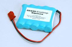 6.0V 800Mah Eneloop Rx Pk Flat - o-5en800aaasf