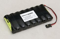 9.6V 1100Mah Tx Pk Flat - o-8k1100aausf
