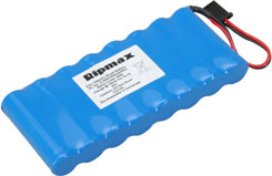 9.6V 700mAh Pro Tx Pk Flat - o-8n0700aaspro