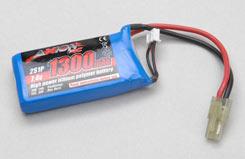 Li-Po Battery 7.4V 1300Mah - o-ax-00350-110