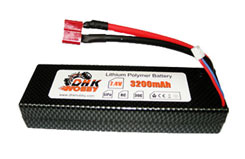 LiPo Battery (7.4V, 30C, 3200mAh) - o-dhkp103