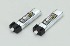 Hi-Energy 1S 130mAh 30C Li-Po(2pcs) - o-he1s1p013030a