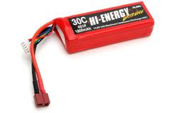 Hi-Energy 4S 1800mAh 30C Li-Po - o-he4s1p180030a
