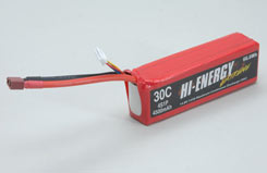 Hi-Energy 4S 4500mAh 30C Li-Po - o-he4s1p450030a