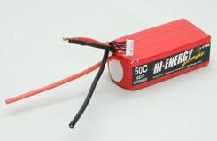 Hi Energy 6s 5500Mah 50c Lipo - o-he6s1p550050a