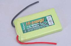 Hi-Energy 7.4v 1800mAh (8C)Li-Po.Pa - o-hinlpa1800