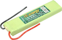 Hi-Energy 7.4V 2000Mah (10C)Li-Po.P - o-hinlpa2000