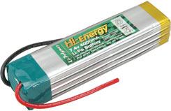 Hi-Energy 7.4V 4000Mah (10C)Li-Po.P - o-hinlpc4000