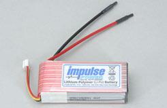 Impulse 3S1P 1300Mah 20C Li-Po - o-im3s1p130020c