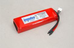 Impulse 3S1P 4000Mah 20C Li-Po - o-im3s1p400020c