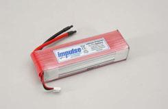 Impulse 3S1P 4800Mah 20C Li-Po - o-im3s1p480020c