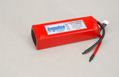Impulse 4S1P 4000Mah 20C Li-Po - o-im4s1p400020c
