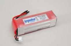 Impulse 4S1P 4800Ah 20C Li-Po - o-im4s1p480020c