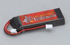 Intellect 2S 1600Mah 20C Car Lipo - o-it2s1p160020c