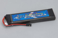 Intellect 2S 2000Mah 25C Rx Li-Fe - o-it2s1p200025rf