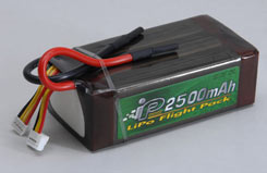 Intellect 6S 2500Mah 25C Li-Po - o-it6s1p250025a