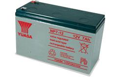 12V 7Ah Yuasa Lead Acid Battery - o-np7-12