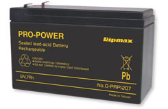 12V 7A Power-Peak Sla Battery - o-prp1207