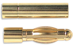 Gold Connector 2Mm W/H.S (2Pr) - o-ra02-2