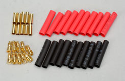 Gold Connector 3.5Mm W/H.S (10Pr) - o-ra03-10
