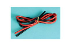 Silicone Wire - Black & Red X 500Mm - o-ra72sw