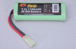7.2V 1100Mah Ni-Mh Battery-Rage - o-xtm6n1100al